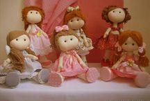 bonecas de pano russa pequena