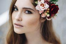 Virág fejdíszek