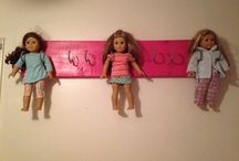 AMERICAN GIRL HANGING IDEAS