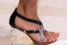 Fashion Show Footwear Spring 2016 / Check out these fabulous designer shoes from the runways. Footwear trends to look out for this spring. Will they provide the inspiration for the next pair of shoes you buy?