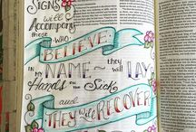 Bible journaling / by Dawn Harvell Costner