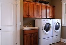 Laundry Mudroom ideas  / by Heather Crotwell Templet