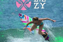 LIZZY-SURF / A collection of epic surf shots featuring the Lizzy Surf Team