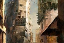 Concept: Environments / by Mark Zamayla