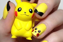 +++ nail art personnages +++