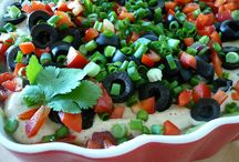Yummy dips or party stuff / For our bbq's and social events  / by Shonda Cross
