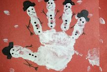 parmak el baskısı çalışmaları