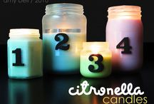 Candles / by Amy Folz
