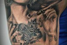 Tattoo BlackAndGrey / Tatuajes de Realismo en Negro y Gris Realism tattoos Glack and Grey