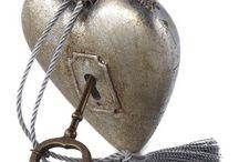 Art Hearts - Dekorationsherzen / Geschenkidee