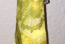 Dekoration mit Flaschen