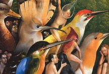 The Garden of Earthly Delights / Hieronymus Bosch Works
