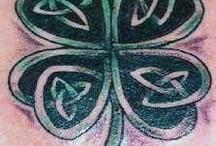 Irisch tattoo