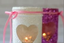 Valentine's Day Craft Ideas / Valentine craft projects, for kids and grown-ups alike!