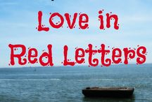 31 Days Series--Love In Red Letters