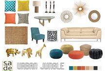 decoração 2015 Urban Jungle