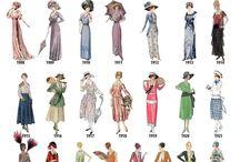 evolutie moda femei