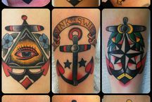 Anchor Old School Tattoo