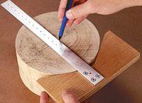 Handmade wooden tools