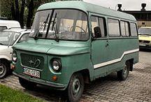 Alte Lieferwagen