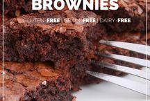 yummy flourless brownies