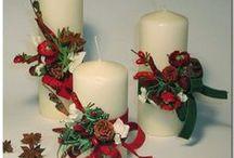 candele di natale