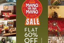 Mano Ya Na Mano Offer / Avail a FLAT 60% off on over a range of products at your nearest HomeTown Store today!