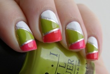 Manicure Striping Tape Designs / Teeny tiny tape designs for your pretty little fingers.