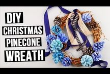 How to Make a Wreaths / Don't know how to make wreath? We'll help you to adorn your home in style by creating extraordinary wreaths from ordinary materials! #diywreath #homedecor #handmadewreath