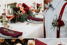 Red Compote Floral Ideas