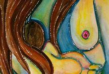 Maternidad ilustrada. / Maternity illustrated.