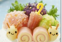 Bento / Cute and lovely obento. definitely must try^^