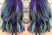 Mean hair colour