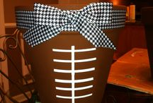 Black & Gold Basket / Ideas for our department's silent auction basket  / by Becca Fick