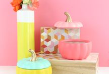 A Kailo Chic Life: DIY It - Color Blocked Pumpkin Candy…