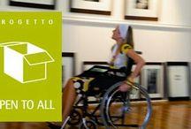 Operatori Museali e Disabilità / Progetto nato con l'intento di incrementare le conoscenze e le competenze relazionali e professionali degli Operatori Museali, con particolare riguardo alle persone con disabilità.