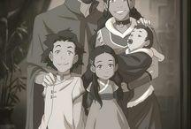 Avatar: The Last Airbender; Legend of Korra / The Last Airbender, Legend of Korra; Animated series, Artwork