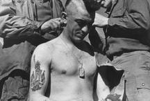 Vintage military tattoo