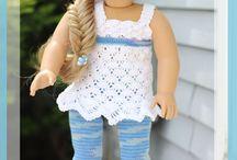 Crochet patterns doll