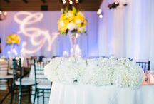 Bright Yellow Blooms Wedding