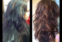 Best Hairdresser in Reno / Showing off some of my favorite cuts and colors from behind the chair! :)