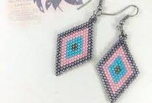 Šité šperky - Návody