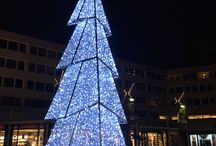 Grote kerst bomen