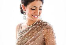 sari hair