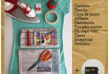 tintes, transfer y serigrafia sobre ropa / Tuneos rapidos de ropa a base de tintes y pintura