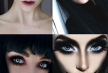 make-up and halloween makeup