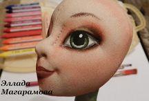куклы - голова