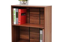 Wooden Bookcase Storage Unit Cupboard Beautiful Home Furniture Shelving Cabinet