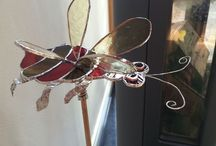 Buzzy bee / Stained glass