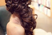 wedding hair..♥